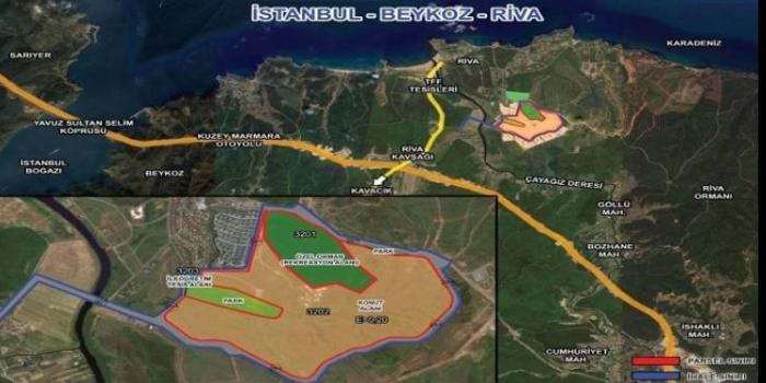 Riva arazisinin sahibi Fema-KLV İnşaat Ortaklığı oldu