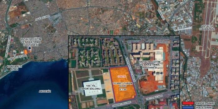 Emlak Konut Antalya Muratpaşa arsası 18 Temmuz'da ihaleye çıkıyor