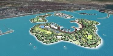 Pendik'e 3 yapay ada tartışması