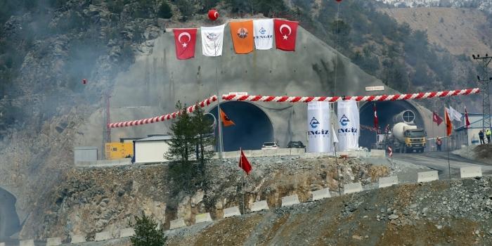 Yeni Zigana Tüneli'nde hedef 2019