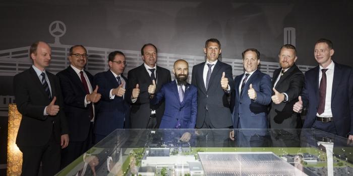 ESTA, Mercedes-Benz'in dev tesisinin temellerini attı