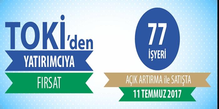 TOKİ İstanbul Kayabaşı'nda 77 iş yerini satışa sundu