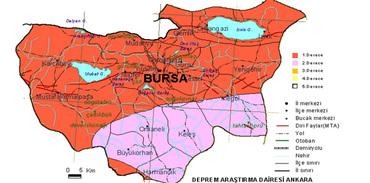 Bursa için kentsel dönüşümde fay uyarısı