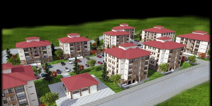 TOKİ Kırşehir Akpınar'a 141 konut inşa edecek