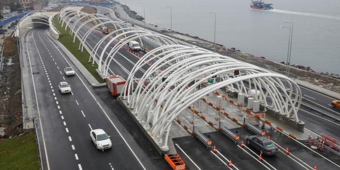 Avrasya Tüneli'ne 'Yılın Yapısı' ödülü