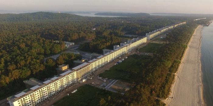Hitler'in Nazi oteli ultra lüks bir tesise dönüştürülüyor