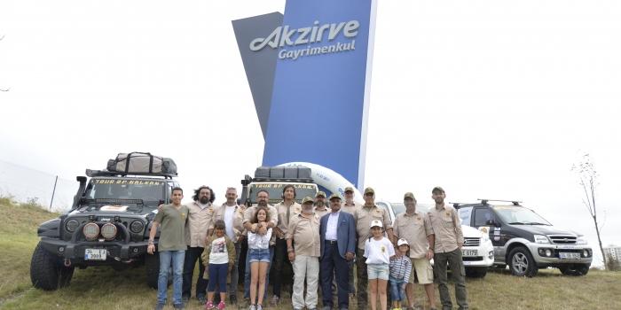 Akzirve sponsorluğunda 15 günlük Balkanlar turu