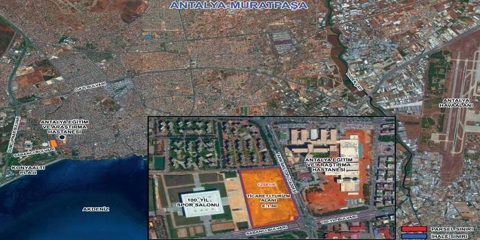 Emlak Konut GYO'nun Antalya Muratpaşa arsa ihalesi yarın yapılacak