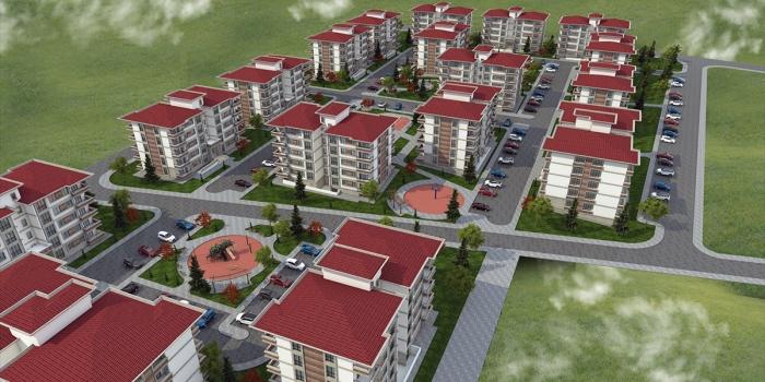 TOKİ Ankara Kahramankazan'a 334 konut inşa edecek