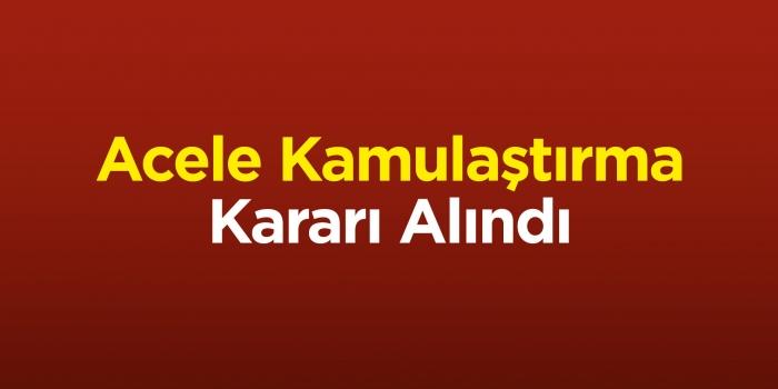 Zonguldak ve Bartın'da acele kamulaştırma kararı