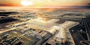 Üçüncü Havalimanı'na ilk uçak Şubat'ta inecek