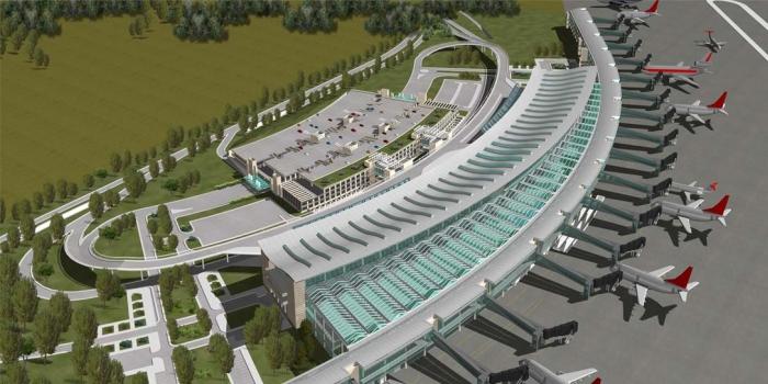 3. Havalimanı'nın kiralanabilir alanları için dünya devleri yarışıyor