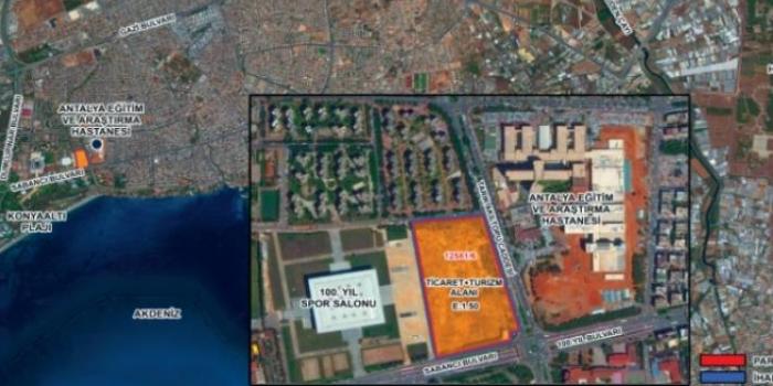 Antalya Muratpaşa'da en yüksek teklif MESA Mesken'den geldi