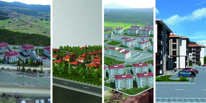 TOKİ 4 şehirde toplam 943 konut inşa edecek