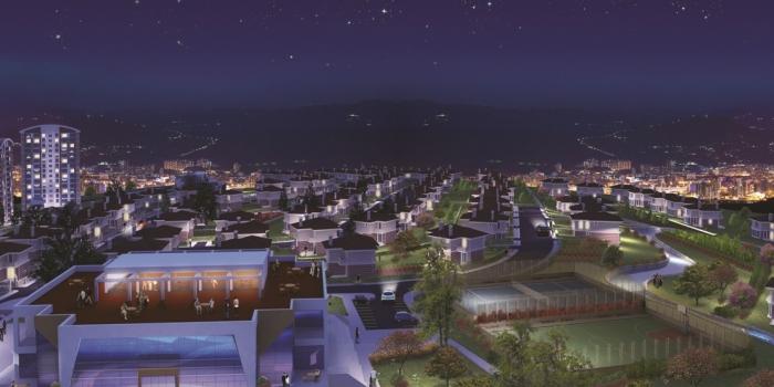 Mebuskent'te ticari alanların satışı başladı
