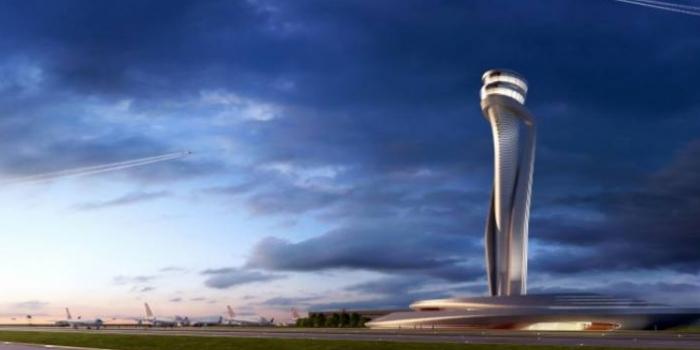 3. Havalimanı'nda kontrol kulesi tamam