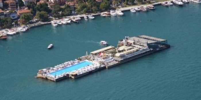 Galatasaray Adası'nda yıkım tartışması