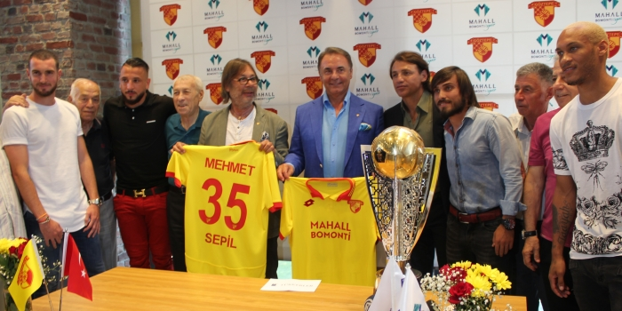 Türkerler Göztepe'nin Süper Lig sponsoru oldu