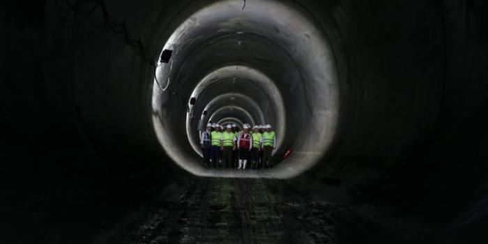 Mecidiyeköy - Mahmutbey metro kazıları tamamlandı