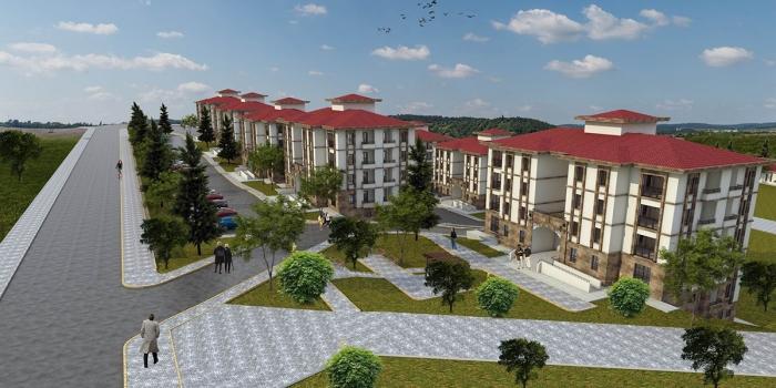 TOKİ Sivas Suşehri'ne yöresel mimaride 460 konut inşa edecek