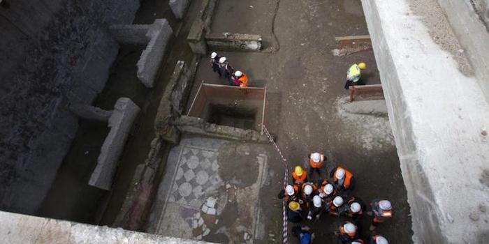 Beşiktaş metro çalışmalarında Demir Çağı bulgularına rastlandı
