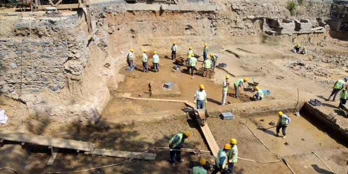 Kabataş-Mecidiyeköy hattının açılışını arkeolojik çalışmalar belirleyecek