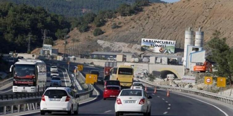 Sabuncubeli Tüneli'nden iki haftada 600 bin araç geçti