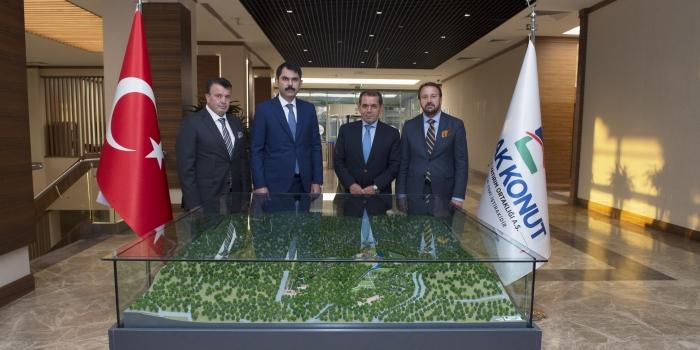Galatasaray'ın Riva arazisi için imzalar atıldı