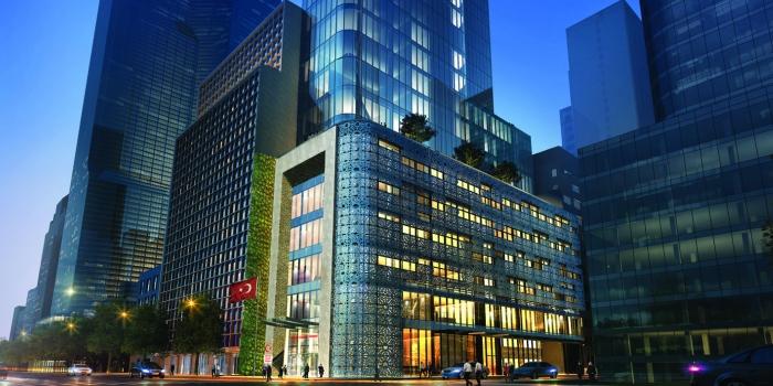 New York Türkevi binasının temellerini Cumhurbaşkanı Erdoğan attı