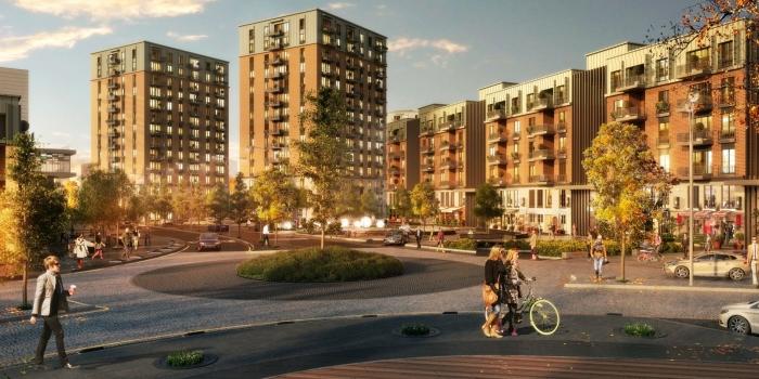 İFM'ye entegre yeni bir kent: Sinpaş Finans Şehir