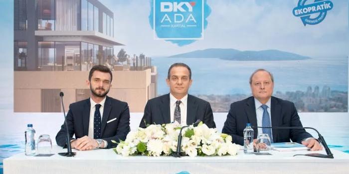 Kartal'ın en büyük dönüşüm projesi DKY ADA'da satışlar başladı