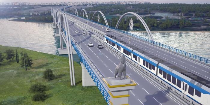 Bu köprüden mega projelerin üzerinde araç geçecek
