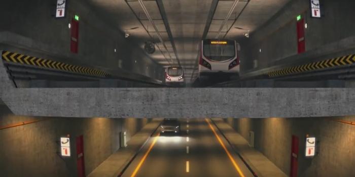 3 Katlı Büyük İstanbul Tüneli 3 Ekim'i bekliyor