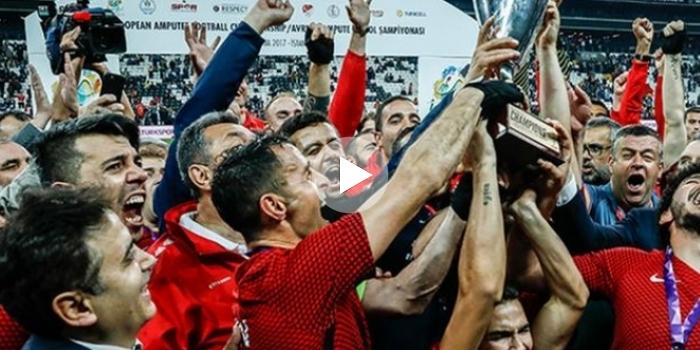 Ağaoğlu'ndan aslan yürekli futbolculara Çekmeköy'den daire