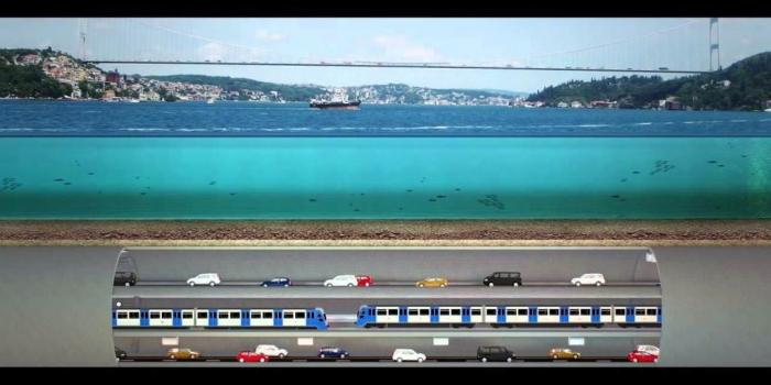 Üç Katlı Büyük İstanbul Tüneli ihalesi 2018'de yapılacak