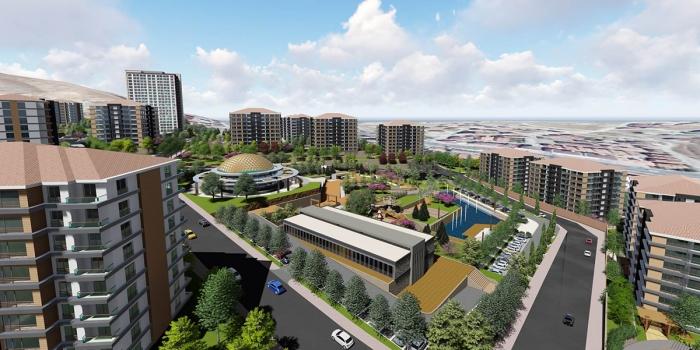 TOKİ Elazığ'da kentsel dönüşüm kapsamında 277 konut inşa edecek