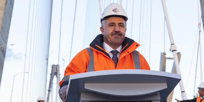 Türkiye'nin eli ulaştırma projeleriyle güçleniyor