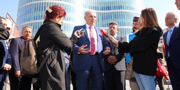 İBB Başkanı Uysal: 'Yanlış projeleri iptal ettik'