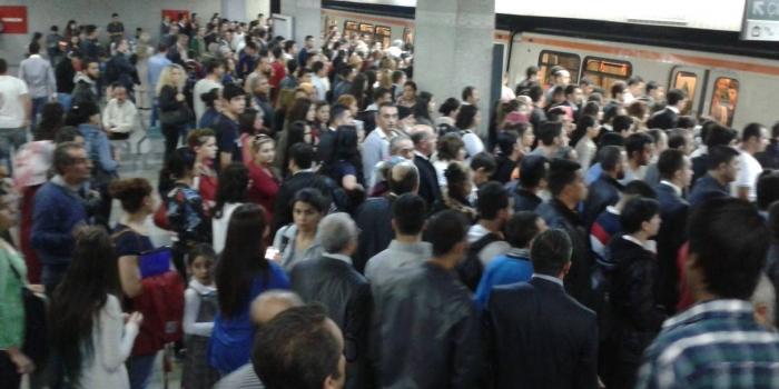 Metro hatları rekor sayıda yolcu taşıdı