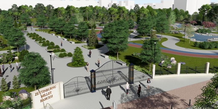 Beştelsiz şehir parkı için askeri lojmanların tahliyesi bekleniyor