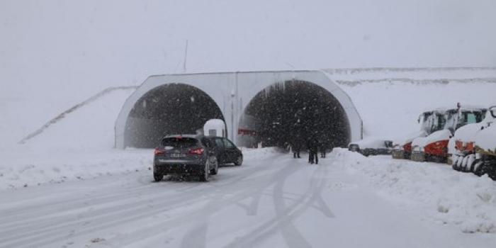 Ovit Tüneli'nde araç geçişi başladı