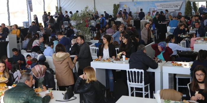 Ağaoğlu Çekmeköy Park yatırımcısıyla buluştu