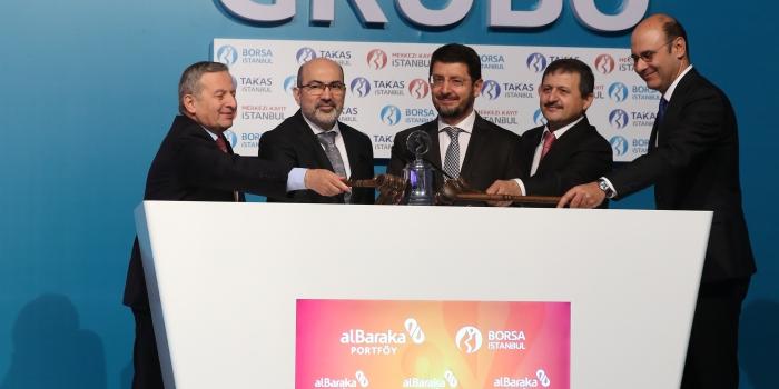 Albaraka'dan borsaya 1.1 milyar değerinde GYF arzı
