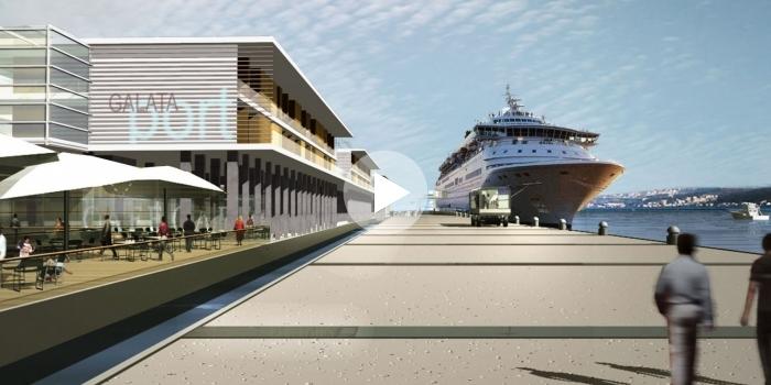 Bilgili: 'Galataport 2019'da açılıyor'