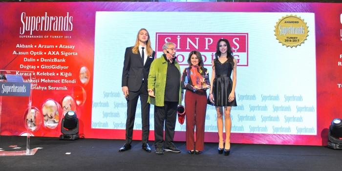 Sinpaş GYO ikinci kez 'Süper Marka' seçildi