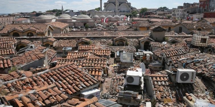 Kapalıçarşı çatı restorasyonunda sona gelindi