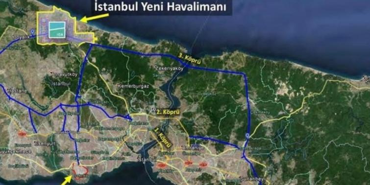 3. Havalimanı Karadeniz'e taştı