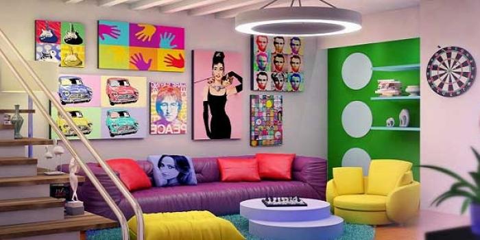 Evlerinizde retro tarzı yansıtın