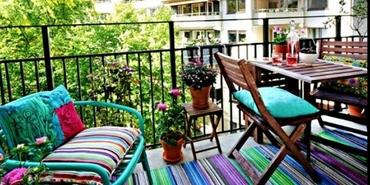 Daha güzel bir balkon için 6 fikir