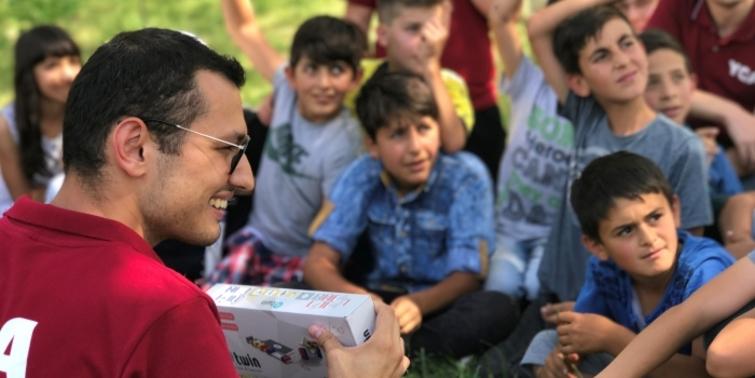 Nef Vakfı bilimi çocuklarla buluşturuyor
